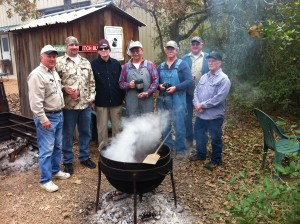 2013 ORWMA Chili Team  L-R, Larry Petter, Jerry Rogers, Jack Rachal, Wayne Zander, David Mitchem,Wayne Wolfford, Mackie Herring. Missing from picture-Douglas Mason, Cecil Stephenson, Vernon Wallace, Bob Lynn